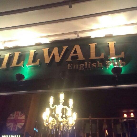 Photo taken at Millwall English Pub by eray on 10/28/2013