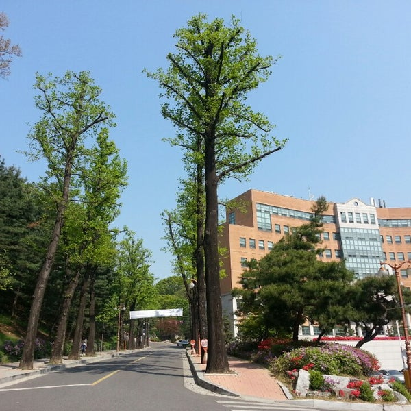 Photo taken at New Millennium Hall by Joung-yun K. on 4/22/2014