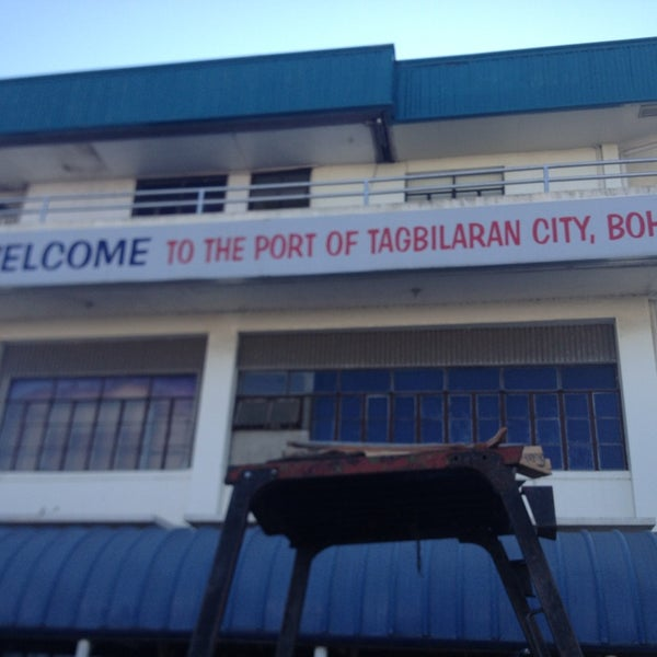 Photo taken at Tagbilaran City Bohol Port by Rachel C. on 4/15/2013