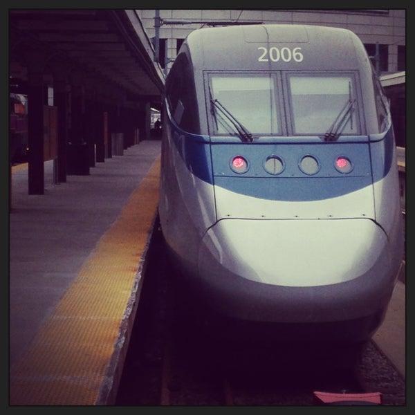 Photo taken at South Station Terminal (MBTA / Amtrak) by Brennan D. on 3/19/2013