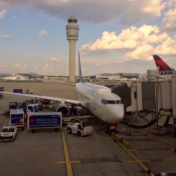 Photo taken at Hartsfield-Jackson Atlanta International Airport (ATL) by Nikki U. on 7/19/2013