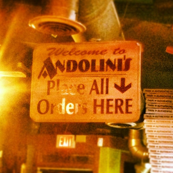 Andolini 39 s pizza now closed pizza place in downtown for Andolinis