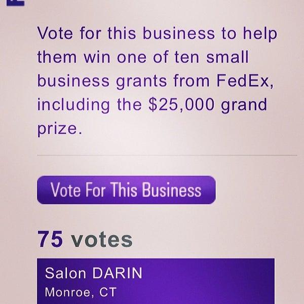 Photo taken at Salon DARIN by Darren R. on 2/23/2014