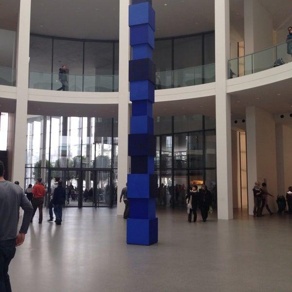 Photo taken at Pinakothek der Moderne by Ksenia L. on 3/2/2014