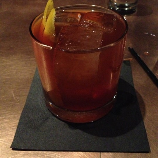 Kenny knows how to make a very proper Old Fashioned. Say hello. Tip him well.