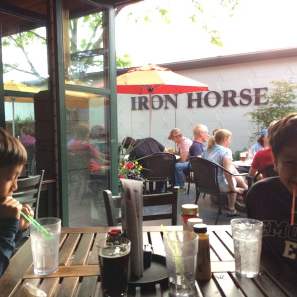 Photo taken at Iron Horse Brew Pub by Steve E. on 6/22/2014