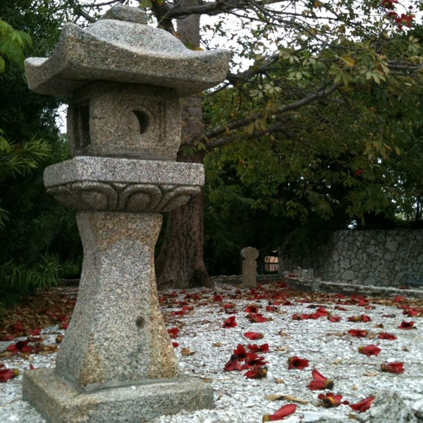 Photo Taken At Ichimura Miami Japanese Garden By Sarah V. On 1/18/