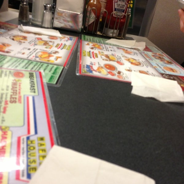 Photo taken at Waffle House by Jordan G. on 12/31/2012
