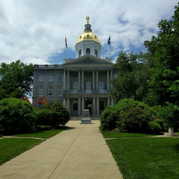 Photo taken at New Hampshire State House by Steve F. on 7/15/2017