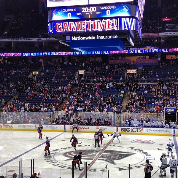 Photo taken at Nationwide Arena by Adam R. on 3/12/2013