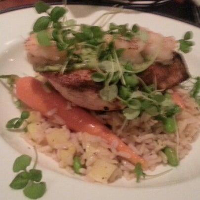 Photo taken at Bluestone Restaurant by Christopher F. on 10/1/2012
