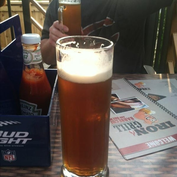 Photo taken at Iron Grill Barbecue and Brew by Michael K. on 6/5/2013