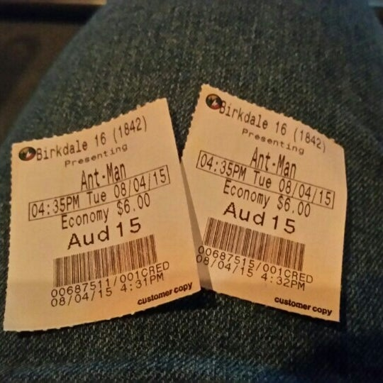 Photo taken at Regal Cinemas Birkdale 16 & RPX by Angie H. on 8/4/2015