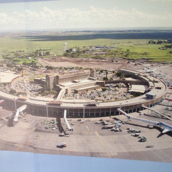 Photo taken at Jomo Kenyatta International Airport (NBO) by Allan P. on 1/11/2014