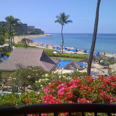 Photo taken at Sheraton Maui Resort & Spa by Bob B. on 4/25/2013