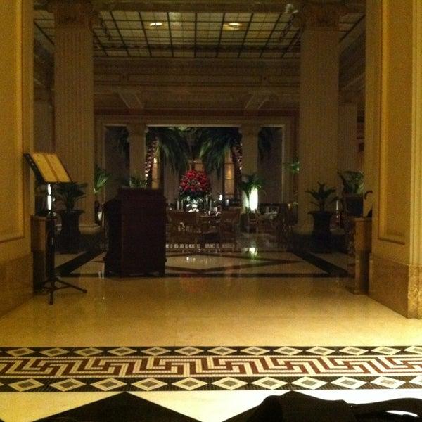 Photo taken at Hotel Grande Bretagne by Sofia M. on 2/13/2013