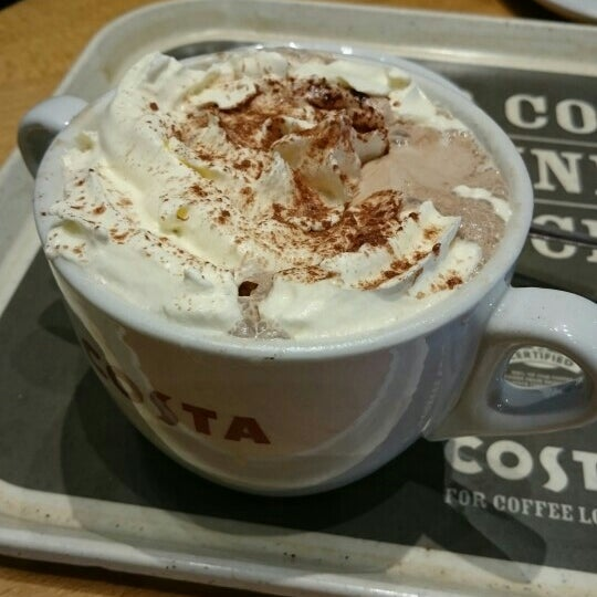 Photo taken at Costa Coffee by Jake P. on 4/20/2015
