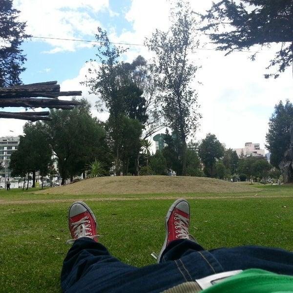 Foto tomada en Parque El Ejido por Alexander H. el 4/16/2013