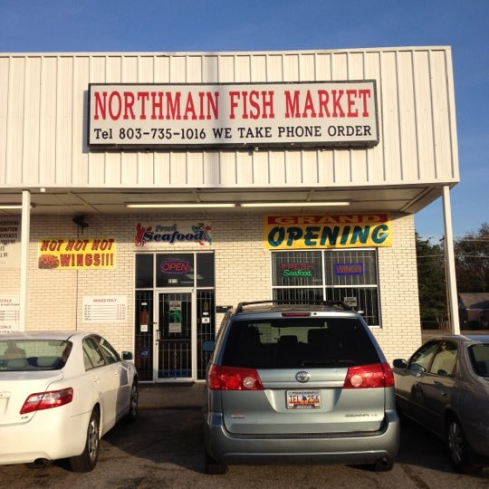 Northmain fish market columbia sc for Fish market philadelphia