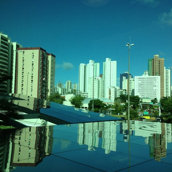 Photo taken at Shopping Recife by Carla F. on 2/25/2013