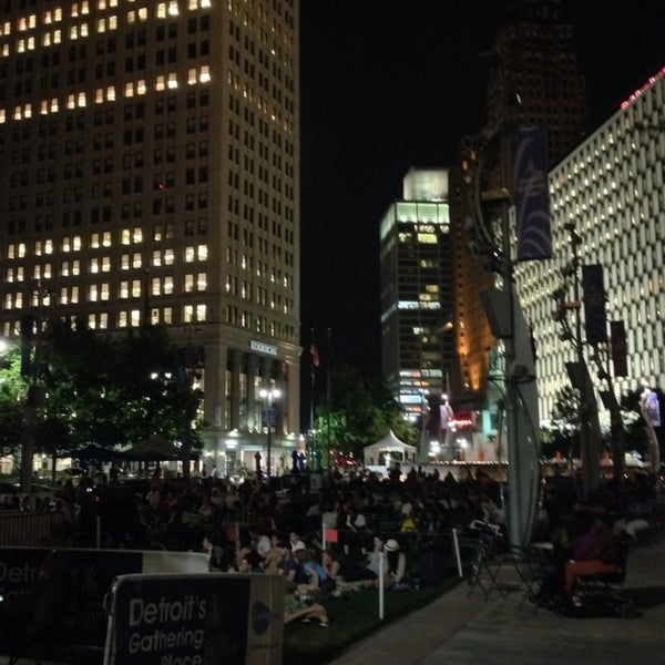 Photo taken at Campus Martius by Graham D. on 7/21/2013