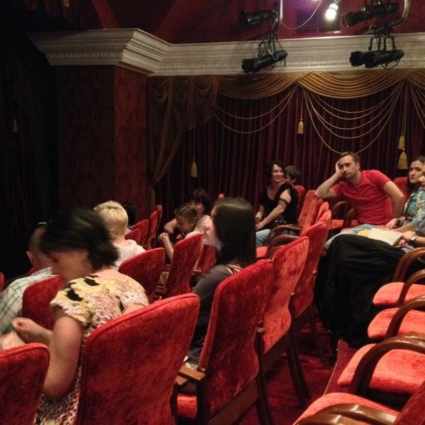 Снимок сделан в Театр-кабаре на Коломенской/ The Private Theatre and Cabaret пользователем Irina B. 7/13/2013