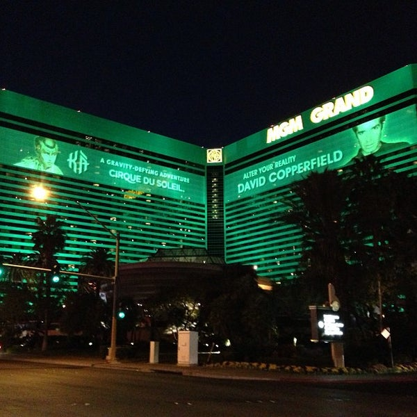 Photo taken at MGM Grand Hotel & Casino by Rodney R. on 3/11/2013