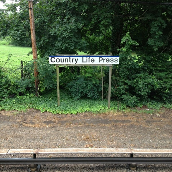Photos at LIRR - Country Life Press Station - Train Station in ...