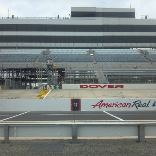 Photo taken at Dover International Speedway by Mike N. on 9/27/2012