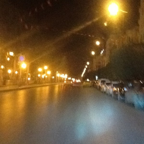 Photo taken at Avenue Habib Bourguiba by Martin .. on 1/31/2013