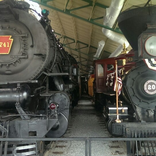 Photo taken at Railroad Museum of Pennsylvania by anthony m. on 7/3/2014