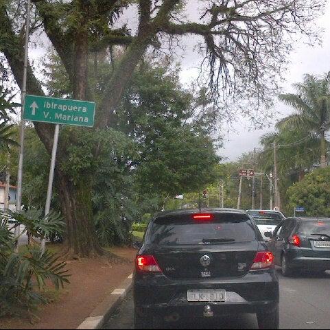 Photo taken at Avenida Brasil by Fernando X. on 7/26/2013