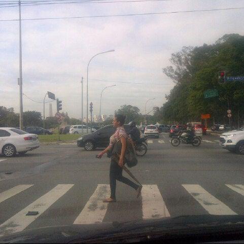 Photo taken at Avenida Brasil by Fernando X. on 7/22/2013
