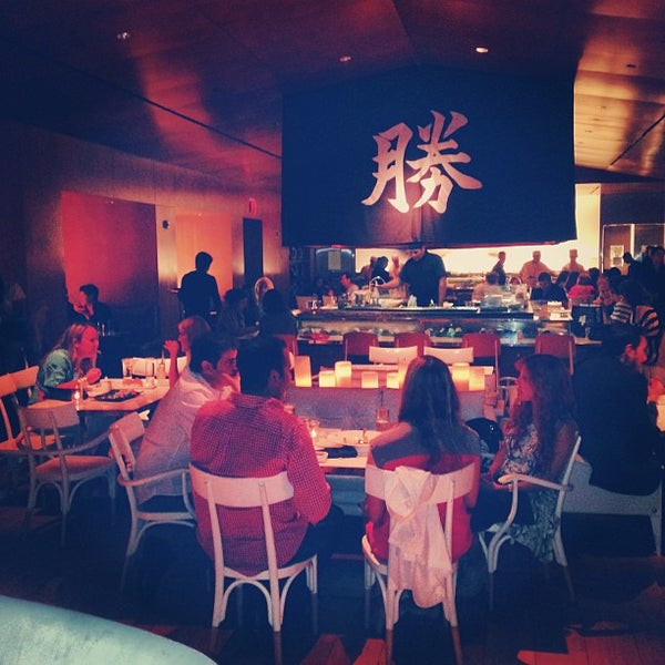 Photo taken at Katsuya Brentwood by Roberto M. on 6/28/2013