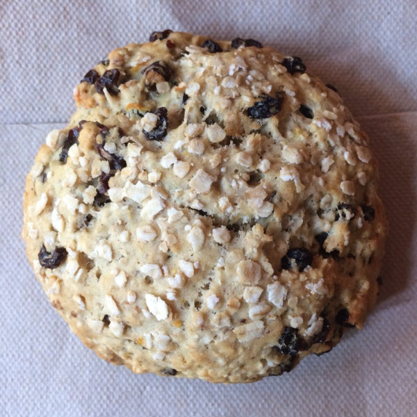 Oat scone is a good choice