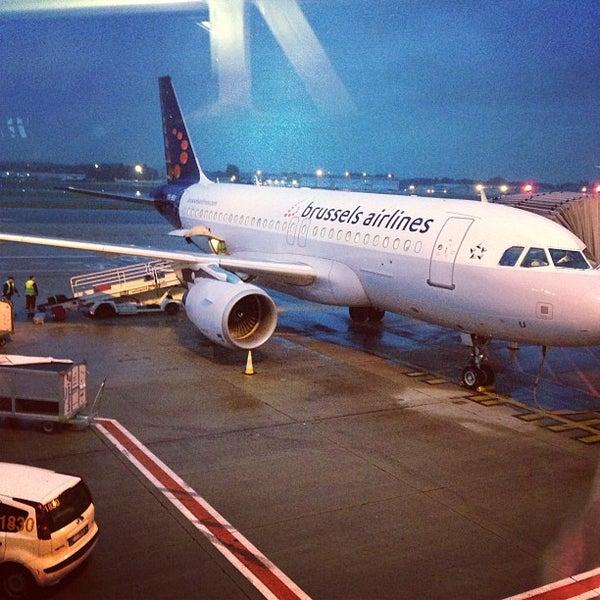 Снимок сделан в Брюссельский аэропорт (BRU) пользователем Morten Amtoft R. 9/13/2013
