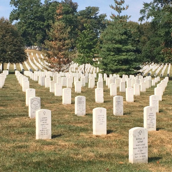 Photo taken at Arlington National Cemetery by Igor K. on 10/6/2013