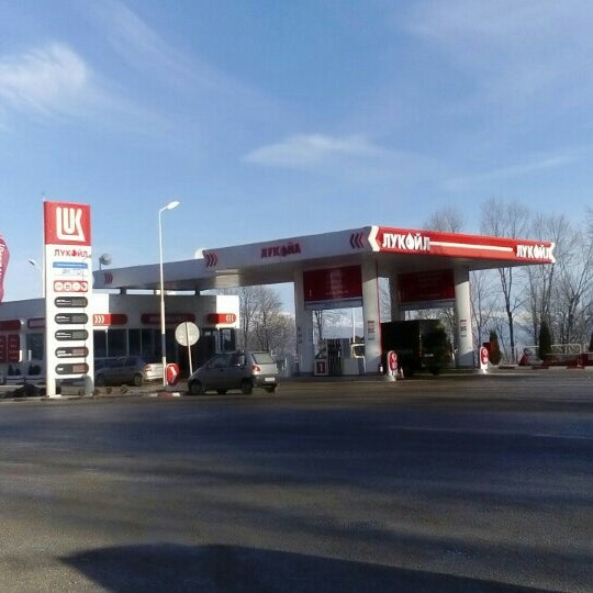 Photo taken at Лукоил (Стража 002) / Lukoil (Straza 002) by Marjan A. on 2/2/2016