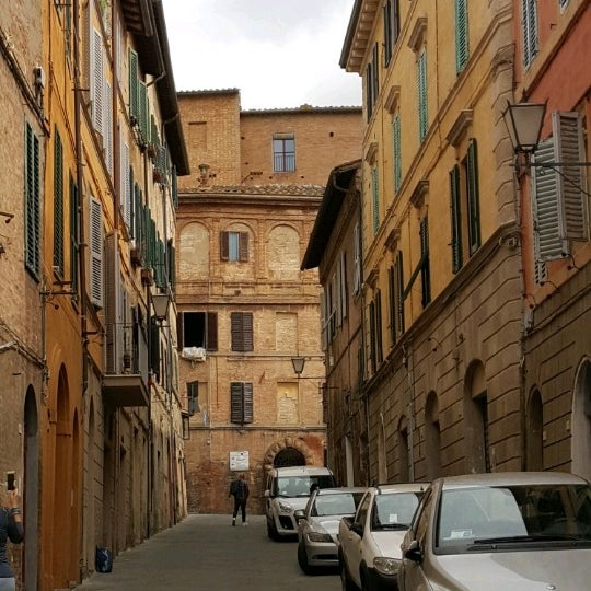Photo taken at Siena by Derya on 5/12/2017