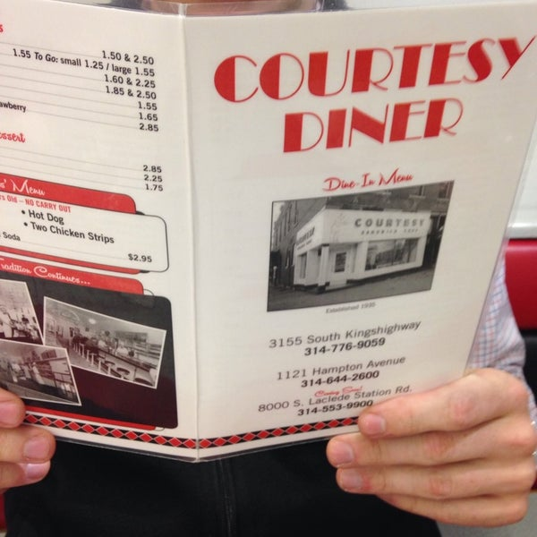 Photo taken at Courtesy Diner by Tony R. on 10/19/2013