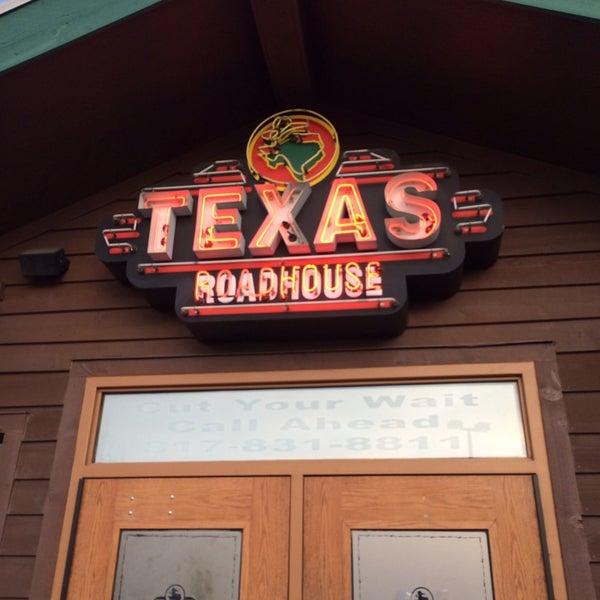 Photo taken at Texas Roadhouse by Cynthia M. on 3/2/2014