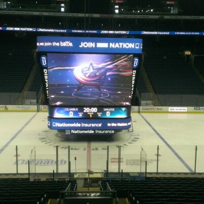 Photo taken at Nationwide Arena by James B. on 2/11/2013