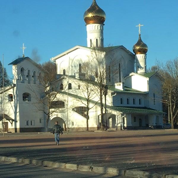Photo taken at Pskov by Людмила Л. on 5/2/2017