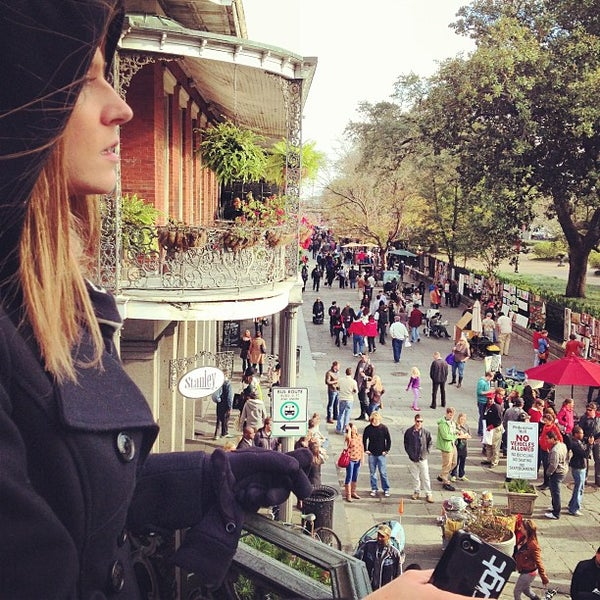 Photo taken at Muriel's Jackson Square by Amaris O. on 12/31/2012