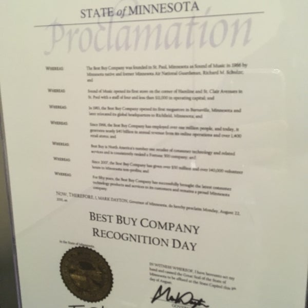 Photos at Best Buy Corporate HQ - Southwest Richfield - 53 tips from ...