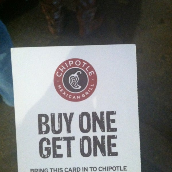 Photo taken at Chipotle Mexican Grill by Christopher J. on 3/15/2013