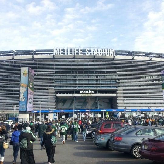 Photo taken at MetLife Stadium by Rick C. on 12/23/2012