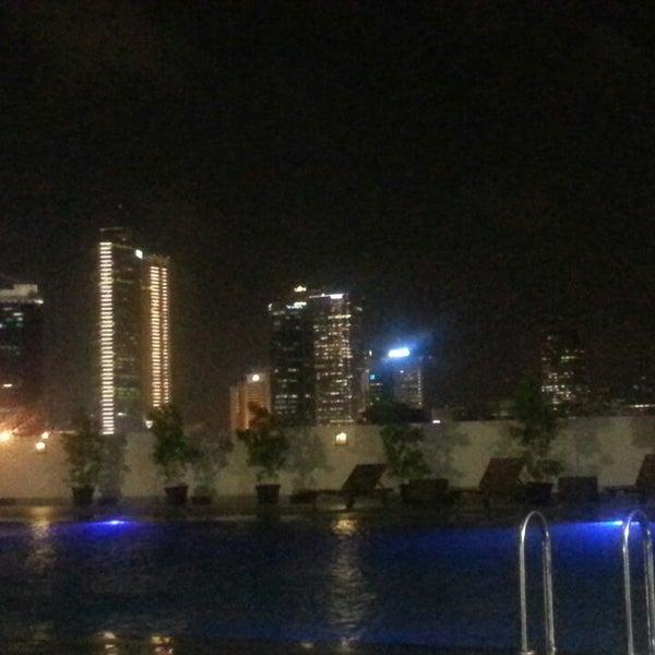Photo Taken At Swimming Pool Royal Kuningan Hotel By Sarie M On 8