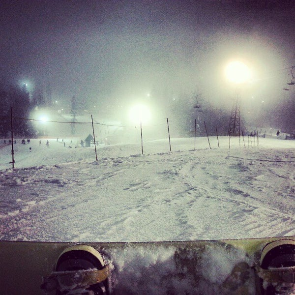 Photo taken at Cypress Mountain Ski Area by Sam Y. on 1/6/2013