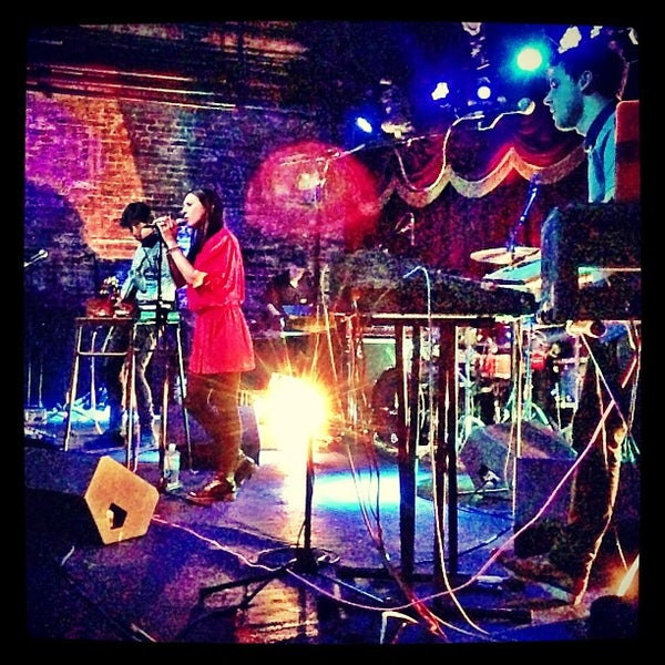 Photo taken at Brooklyn Bowl by Chelsea Mae H. on 2/10/2013